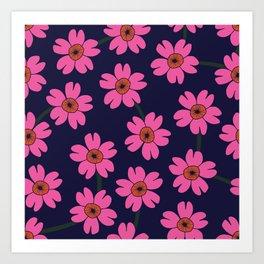 Blomst Art Print