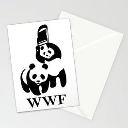 WWF Parody Stationery Cards