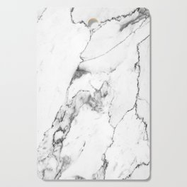 White Marble I Cutting Board