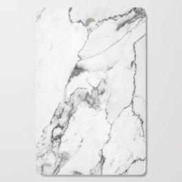 White Marble I Cutting Board