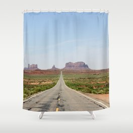 Monument Valley Horizontal Shower Curtain