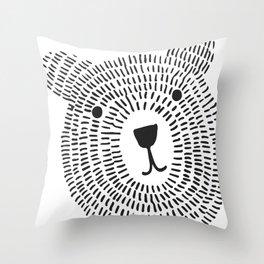 Don´ t worry, bear happy! Throw Pillow