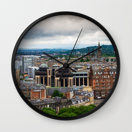 Panoramic of Edinburgh Wall Clock