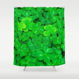 Clovers Shower Curtain