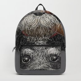 Fidel - The Havanese is the national dog of Cuba Backpack