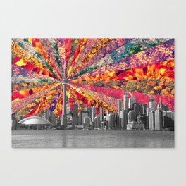 Blooming Toronto Canvas Print