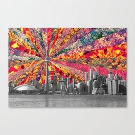 Blooming Toronto Canvas Print