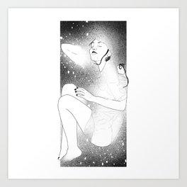 Nymphe céleste 01 Art Print