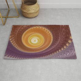 The Warm Zone - Fractal Art  Rug