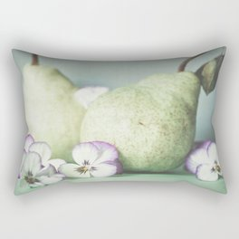 Pair of Pears Rectangular Pillow