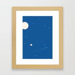 Rocket #2 Framed Art Print