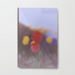 Red Tulips Metal Print