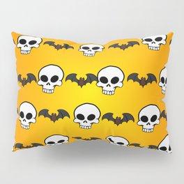 Skully Bats Pillow Sham