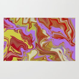 Fluid Abstract 01 Rug