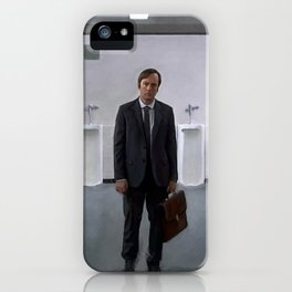 Painting Illustration Of James McGill aka Saul Goodman - Better Call Saul iPhone Case