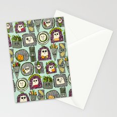 veggie sushi mint Stationery Cards