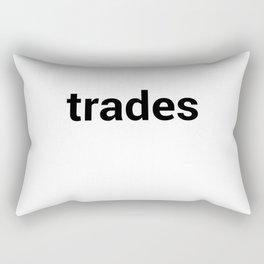 trades Rectangular Pillow