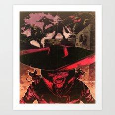 King of Rats Art Print