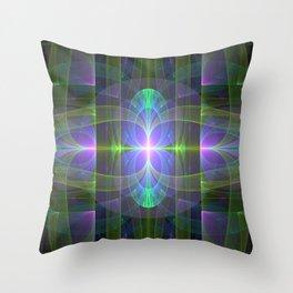 Alien Birth 1 Throw Pillow
