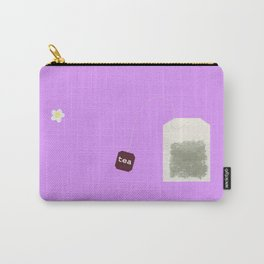 Teatime on Lilac Carry-All Pouch