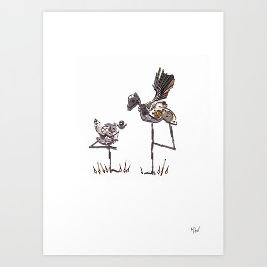Bird birds birds Art Print