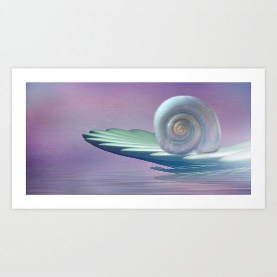 Wellness Boat Art Print