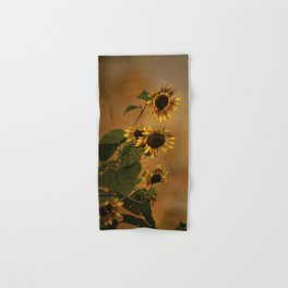 Origin Of Sunflowers Hand & Bath Towel