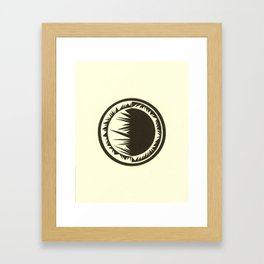 Spatial Framed Art Print