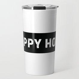 Stamp Series: HAPPY HOUR Travel Mug