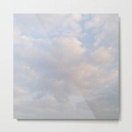 Sky - Cotton Sugar Metal Print