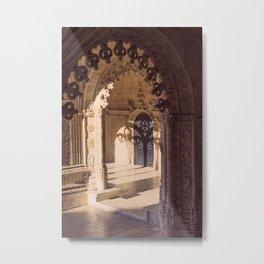 Jerónimos Monastery: Shadows Metal Print
