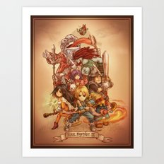 Final Fantasy IX Art Print