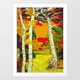 Home at Syin Art Print