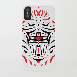 Temple of faces iPhone Case