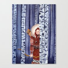 Birch Hunter Canvas Print