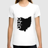 ohio state T-shirts featuring Ohio by Isabel Moreno-Garcia