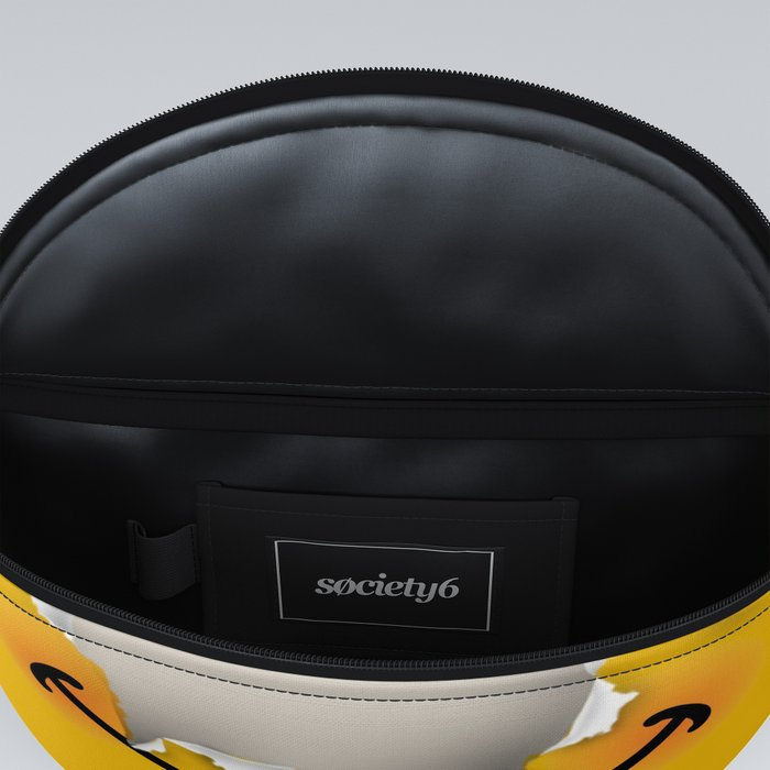 Don't worry be happy - funny emoticon Fanny Pack