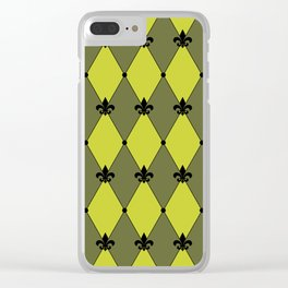 HARLEQUIN Clear iPhone Case