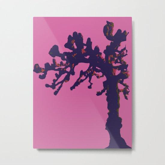 pop winter tree Metal Print