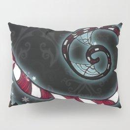 Candy Cane Vine Pillow Sham