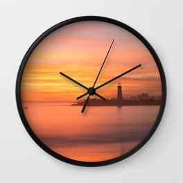 Lighthouse Dreams Wall Clock