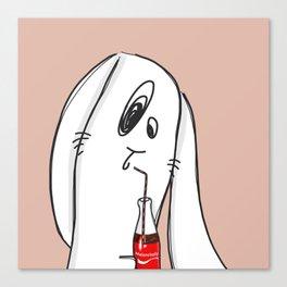 Melancholy's Coke Canvas Print