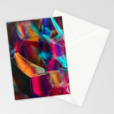 Rainbow Bubbles Stationery Cards