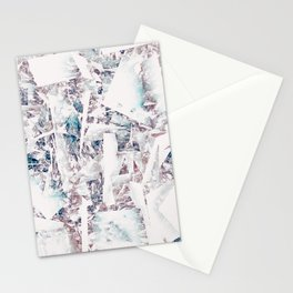 Mountain diamond Stationery Cards