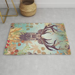 THE FRIENDLY STAG Rug