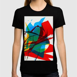 Abstract art made by Thimeo 19 months T-shirt