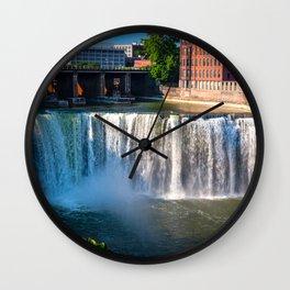 Rochester High Falls Wall Clock