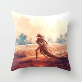 ARIES from the Dancing Zodiac Throw Pillow