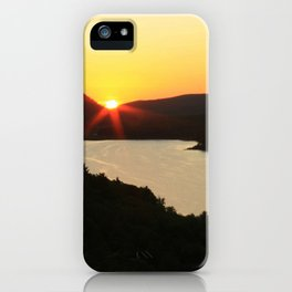 Sunrise over Lake of the Clouds iPhone Case