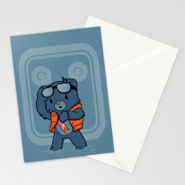Marty McBear Stationery Cards